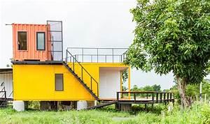 Container Haus Architekt : logement container un concept en vogue cr dit agricole e immobilier ~ Yasmunasinghe.com Haus und Dekorationen