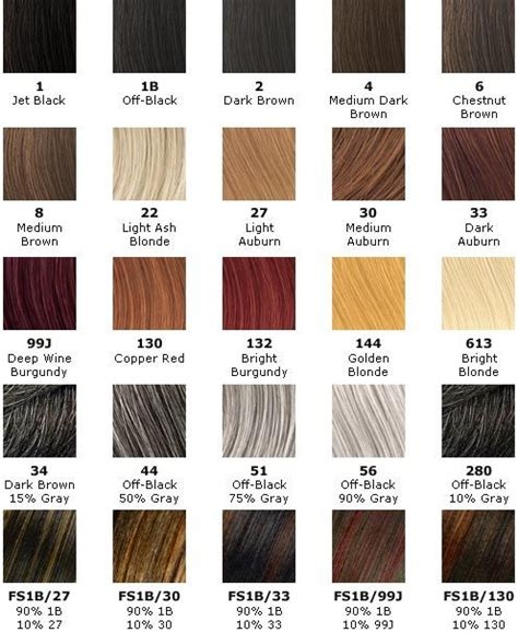 hair color number chart hair weave number color chart the hair tho braiding