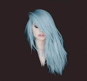pastel blue hair on Tumblr