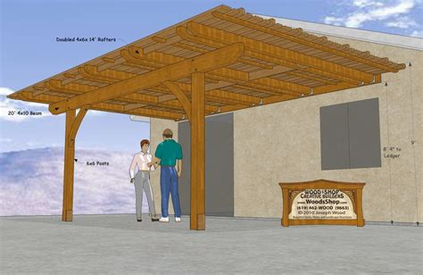 patio awning plans plans woodworking wood box detail drawing trammel