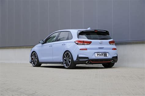 hyundai i30n performance tuning more sportiness h r sport springs in the hyundai i30n