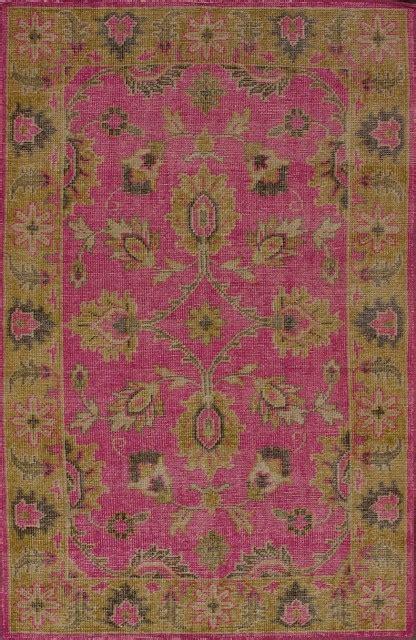 fuschia area rug traditional decor 5 x8 rectangle fuschia area rug