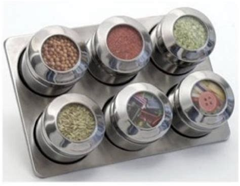 Lipper Spice Rack by Kitchen Magnetic Spice Racks Remodelista