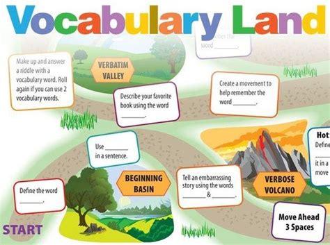 vocabulary land  images vocabulary teaching