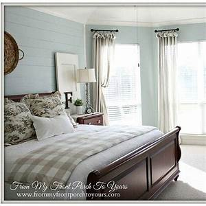 soothing bedroom sherwin williams quotrainwashedquot quothome With best brand of paint for kitchen cabinets with jesus christ wall art