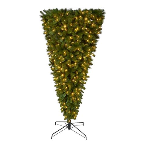 home accents holiday 7 ft pre lit led wesley spruce