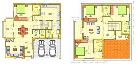 plan rumah  tingkat desainrumahidcom