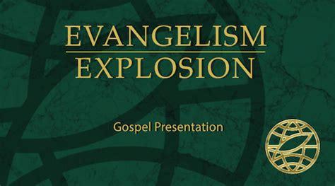 evangelism explosionevangelism explosion