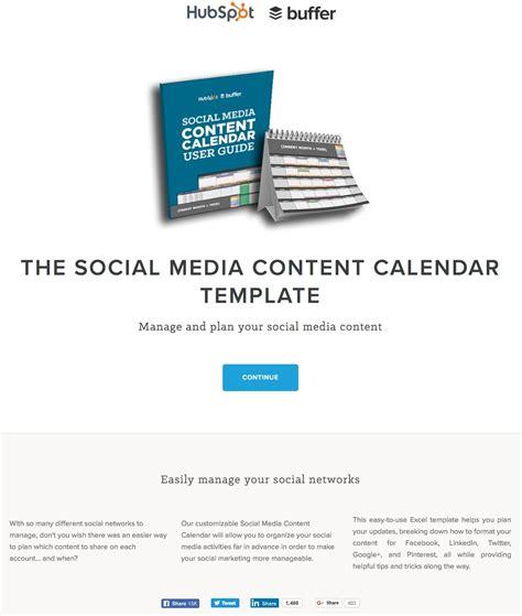 social content calendar template 15 ways hubspot uses