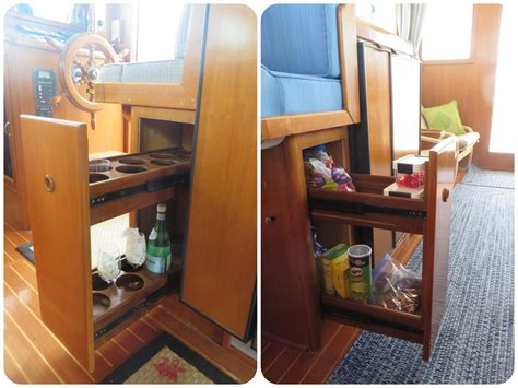 transforming  trawler part   galley makeover