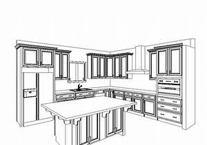 Build A House With Al  U0026 Jen  Kitchen Rendering
