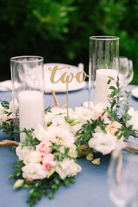 awesome wedding table number ideas youll   copy