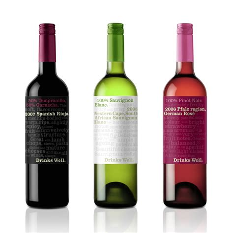 well drinks new wine brand drinks well and is up for grabs creative agency branding packaging design