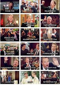 #himym high fives, the high six was the best | Geek ...