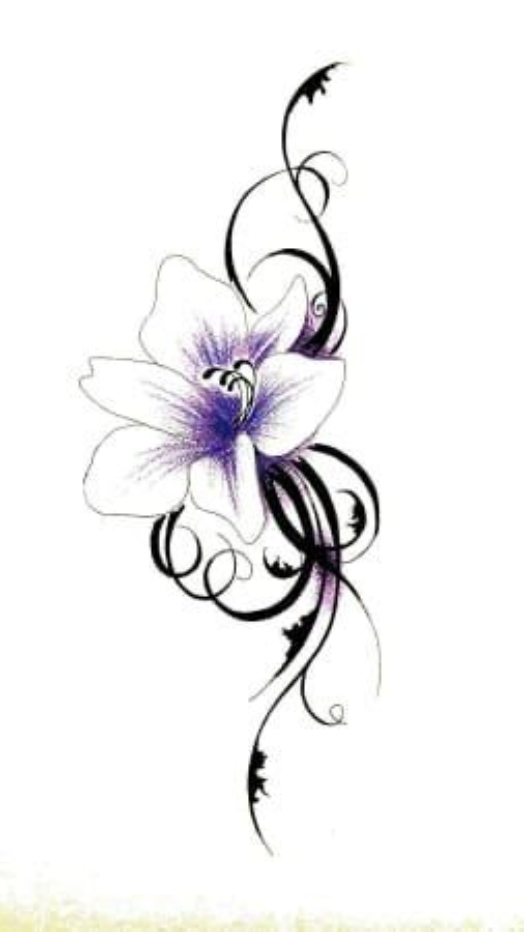 schwarze lilie blume die besten 25 blumen designs ideen auf kn 246 chel t 228 towierung designs
