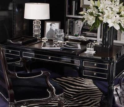 ralph lauren desk chair lush fab glam blogazine luxurious in black home design