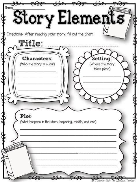 storyelementsrecordingsheet pdf drive literary