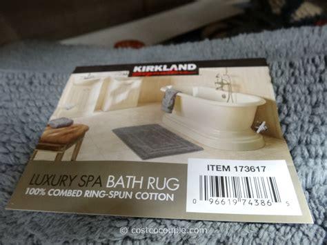 costco bath mat kirkland signature reversible cotton bath rug