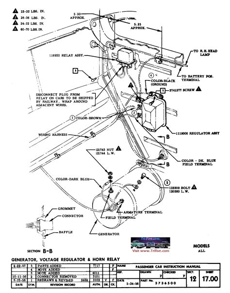 1955 chevy horn relay wiring diagram somurich