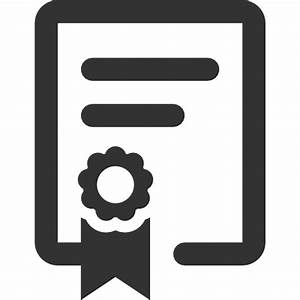 Diploma Black High Resolution PNG Icon | Web Icons PNG