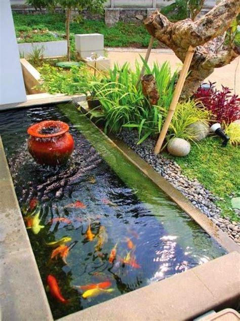 kolam ikan kecil minimalis google search garden fish