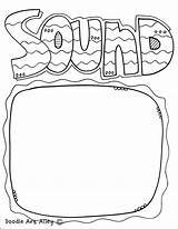 Sound Energy Coloring Pages Printable Printables sketch template