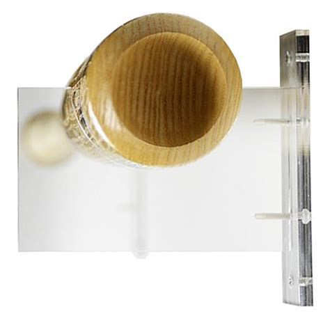 baseball bat stands acrylic holder  sports memorabilia