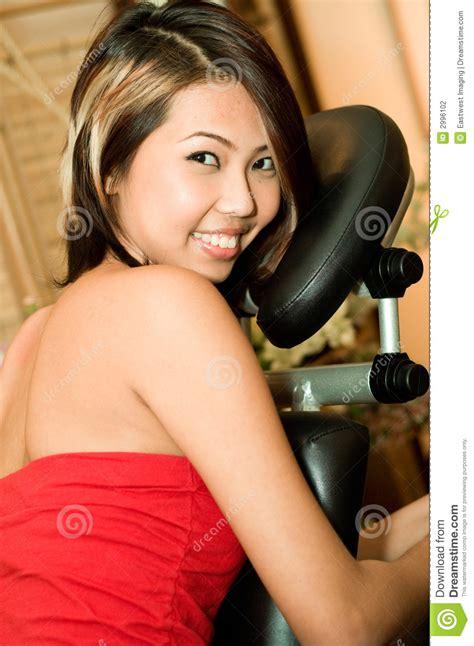 Aziatische Massage Stock Foto Afbeelding Bestaande Uit Behandel