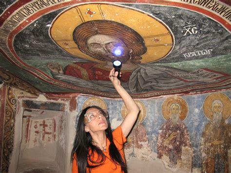 monks secret asbestos lurking beneath byzantine wall