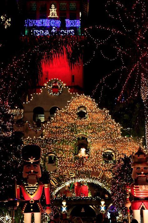 mission inn festival of lights in riverside ca cas