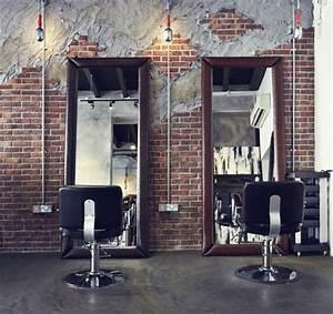 Industrial Style Shop : downtown las vegas hi rollers barbershop barbering pinterest exposed brick barbershop ~ Frokenaadalensverden.com Haus und Dekorationen