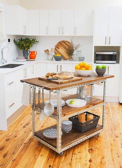 diy kitchen island ideas deco ideas para colocar una isla en cocinas peque 241 as 6848