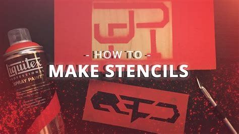 How To Make Spray Paint Stencils [quick & Easy] Youtube