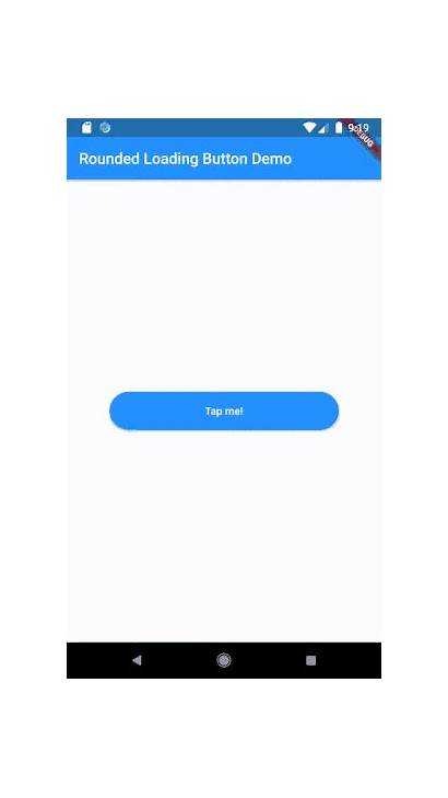 Loading Button Flutter Animated Simple Widget Github