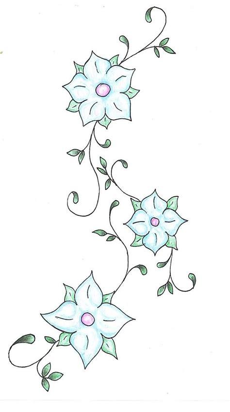beautiful vine tattoos designs pictures images