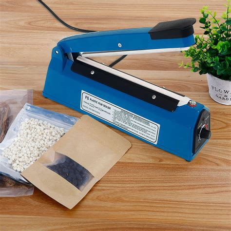 impulse heat sealer poly bag electric plastic sealing machine shrink uk ebay