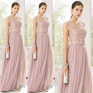 cheap bridesmaid dresses long lace sexy party prom dress With wedding maid of honor dresses