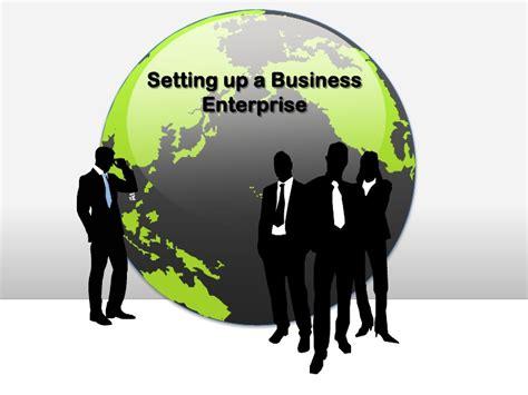 setting business enterprise