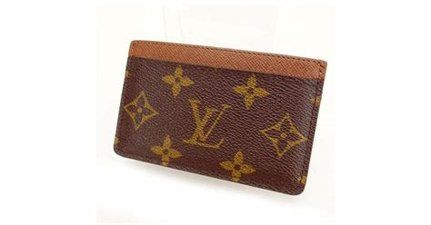 Discover louis vuitton card and key holder at the official online store. Louis Vuitton Business Card Holder Monogram Unisexused Y732 in Brown - Lyst