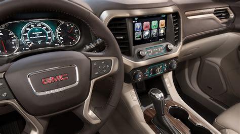 interior features  acadia denali luxury suv gmc