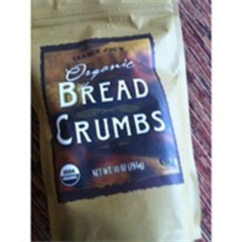 trader joes organic bread crumbs calories nutrition