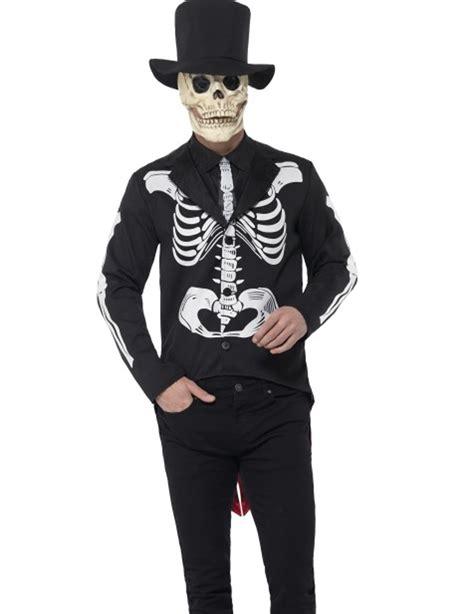 kostuem skelett mann  de los muertos kostueme fuer