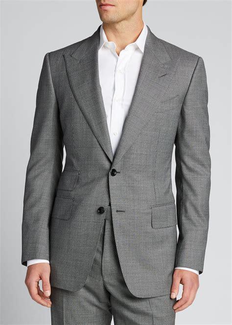 TOM FORD Men's Windsor Irregular Waves Two-Piece Suit ...