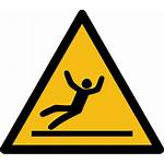 Iso 7010 W011 Safety Falling Signs Avoid