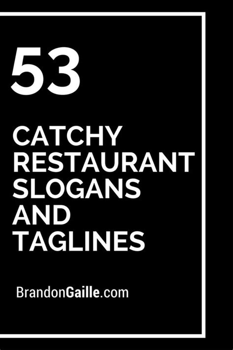 slogan cuisine 53 catchy restaurant slogans and taglines restaurant