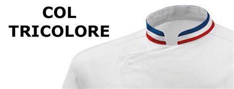 veste de cuisine mof veste de cuisine mof col bleu blanc broderie
