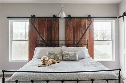 Custom Barn Window Door Treatments Windows Bedroom