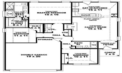 3 bed 2 bath floor plans 3 bedroom 2 bath 1 house plans 3 bedroom 2 bathroom