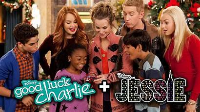 Luck Jessie Charlie Disney Channel Christmas Crossover