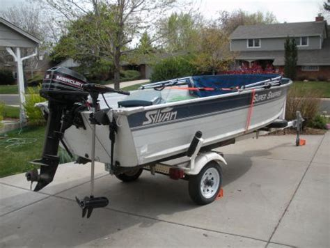 Sylvan Boats Top Speed by 1995 14 Foot Sylvan Snapper Fishing Boat For Sale In